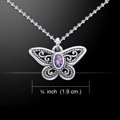 Intuitive Butterfly Pendant
