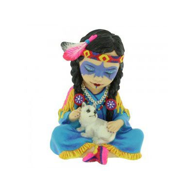 Animal Spirit Guide Wolf Figurine