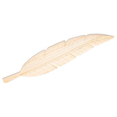 Handmade Natural Wood Spiritual Feather