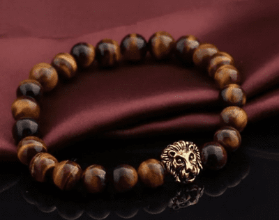 Mens Tigers Eye Bracelet