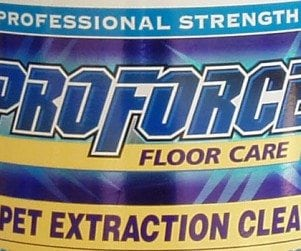 Ecolab ProForce Holographic Label