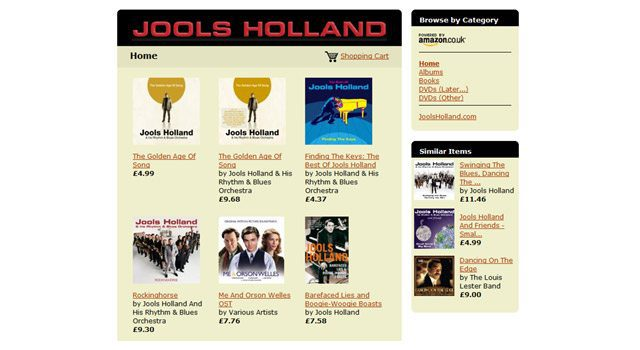 Jools Holland Shop