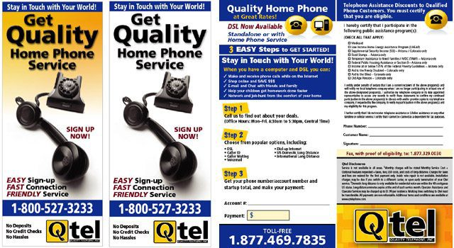 Quality Telephone Flyers